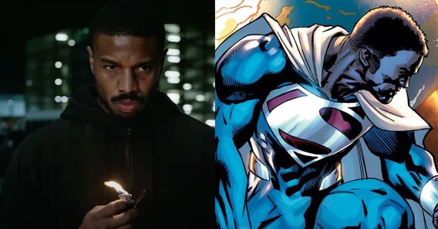 Michael B Jordan Henry Cavill Superman Val-Zod