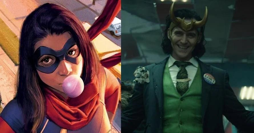 Ms. Marvel Tom Hiddleston Loki