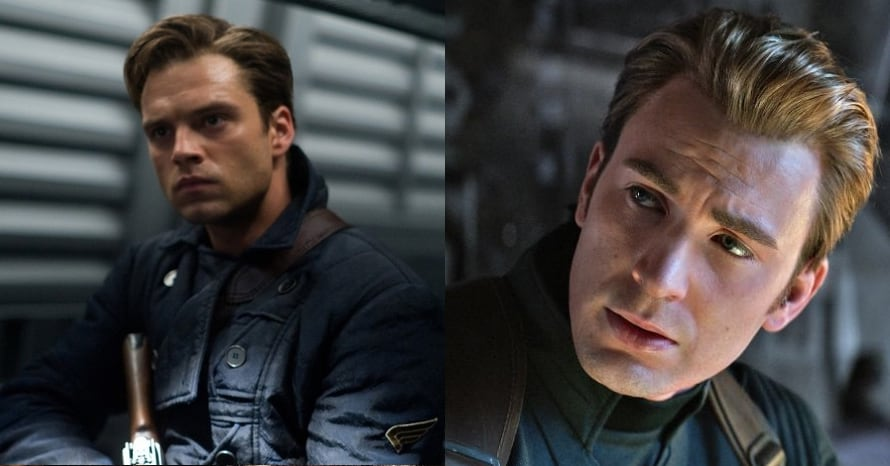 See Sebastian Stan Suit Up As Captain America To Replace Chris Evans