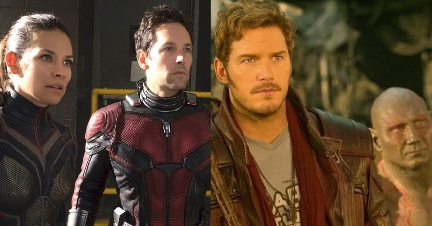 Ant-Man And The Wasp Guardians of the Galaxy Marvel Studios