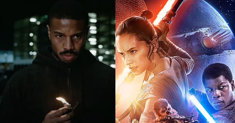 Michael B Jordan Star Wars The Force Awakens