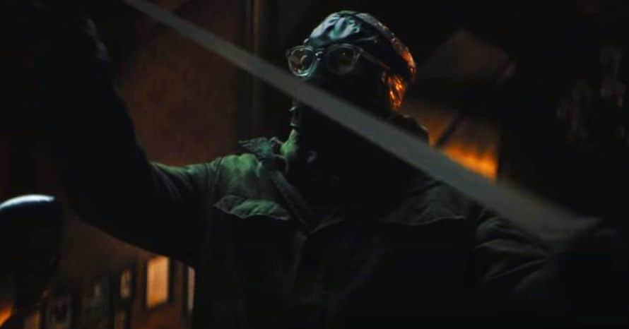 'The Batman': Close Up Look At Paul Dano's Riddler Mask Arrives Online