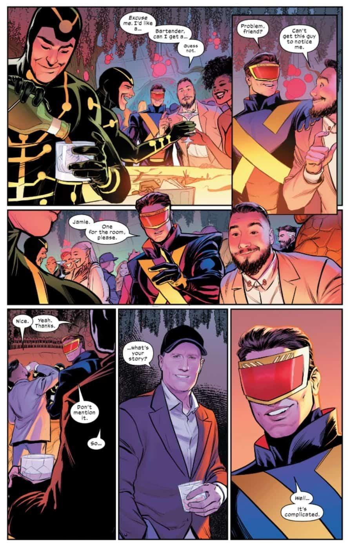 Marvel Kevin Feige Jonathan Hickman X-Men #21