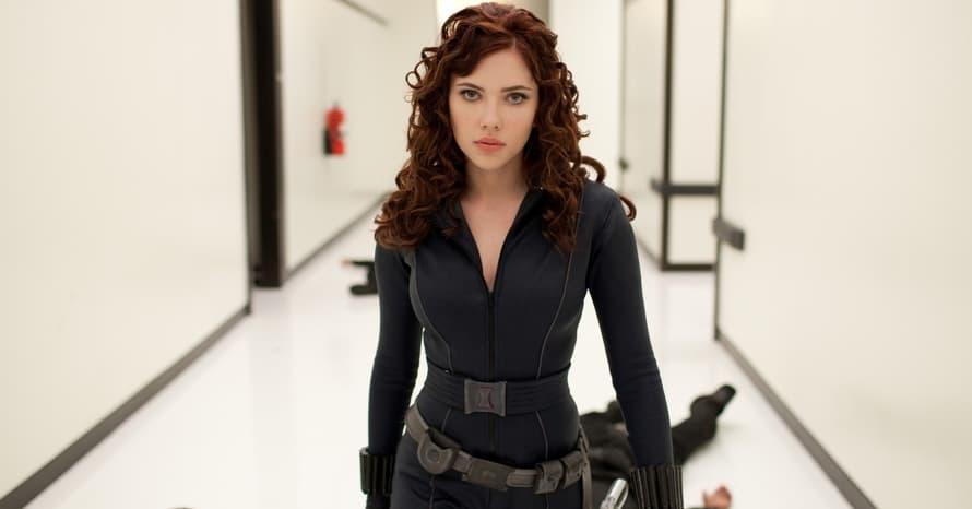 Scarlett Johansson Iron Man 2 Black Widow