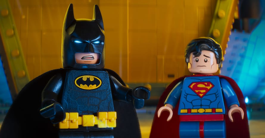 The LEGO Batman Movie Justice League Superman