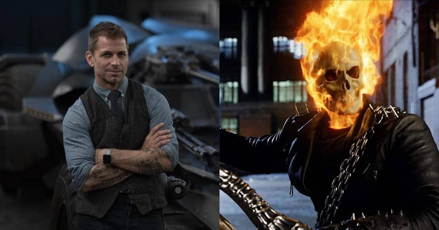 'Justice League' Director Zack Snyder Reacts To 'Ghost Rider' Reboot Rumors