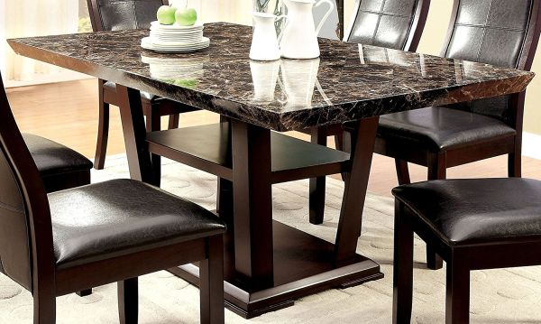 Modern Marble Dining Table In White Color Pros And Cons