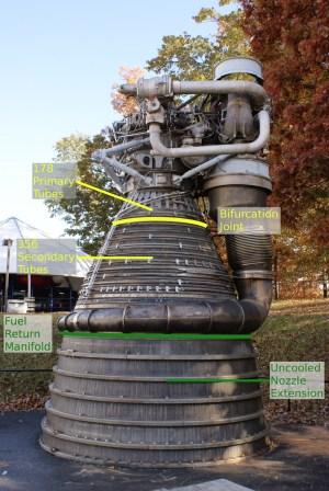 F1 Engine Thrust Chamber