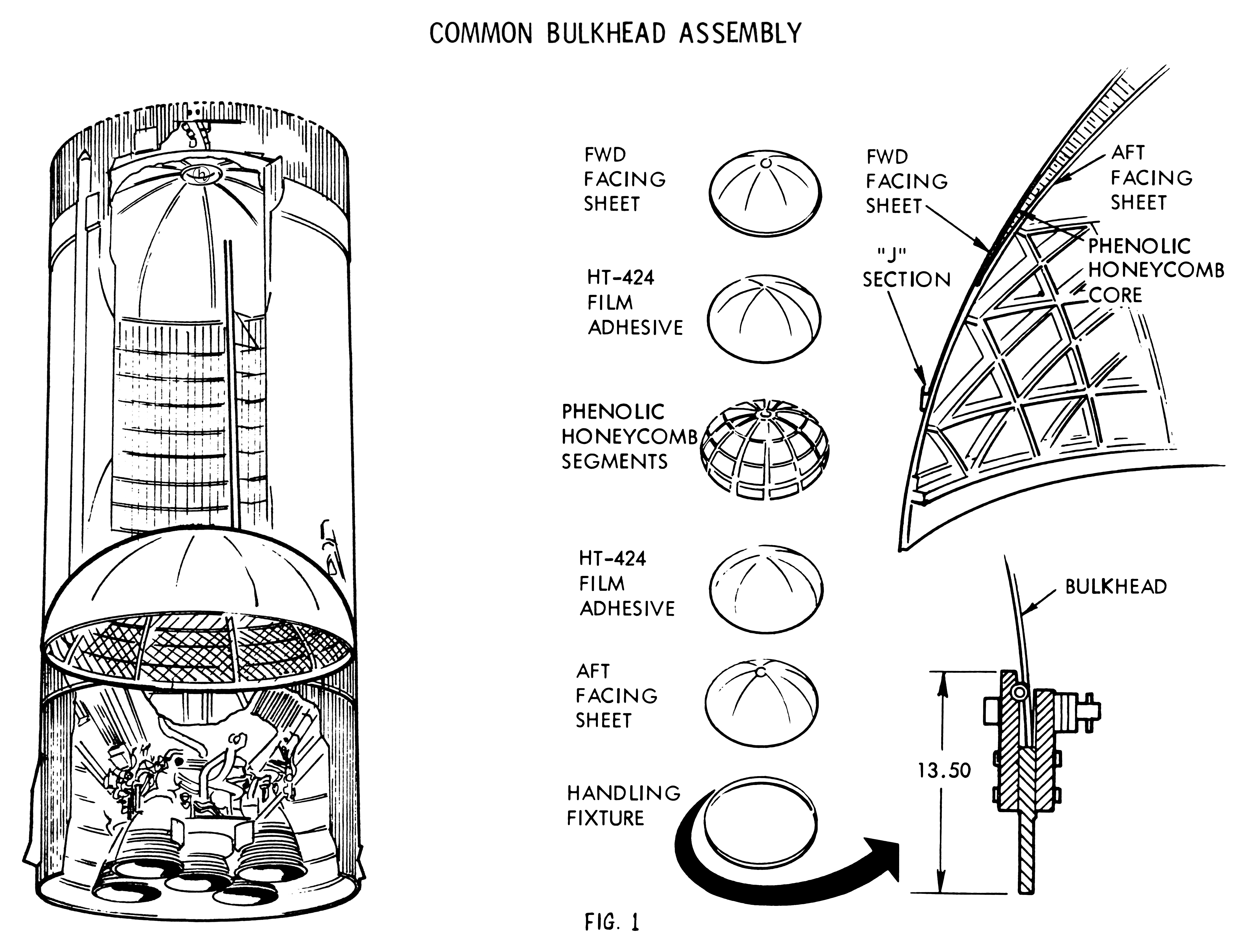 The Common Bulkhead For The Saturn S Ii Vehicle
