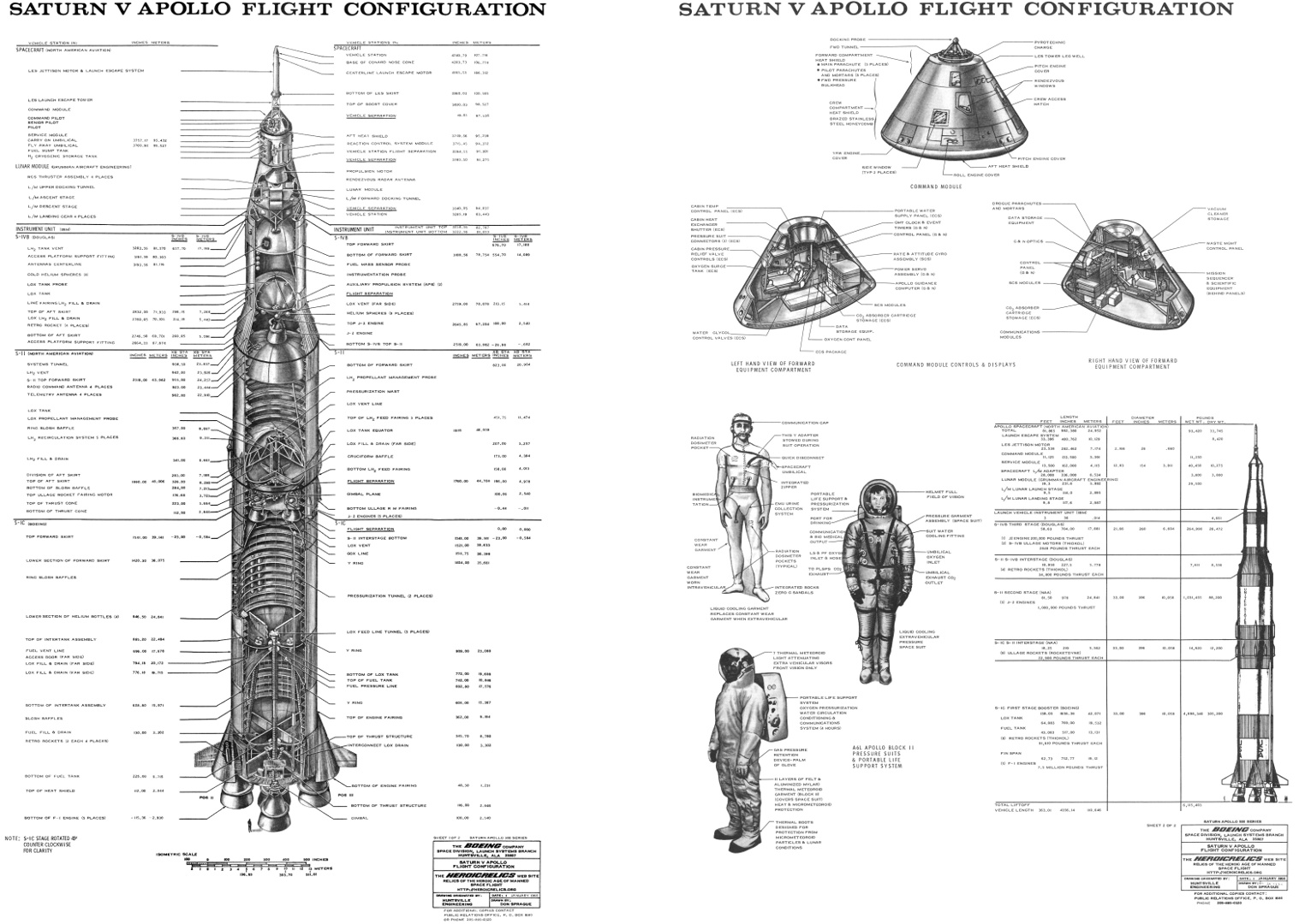 Apollo Saturn V Drawings Page 2