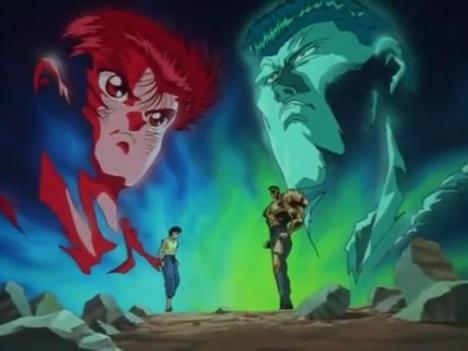 yusuke vs toguro torneio das trevas