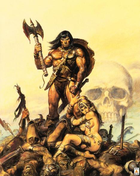 Conan o bárbaro poster