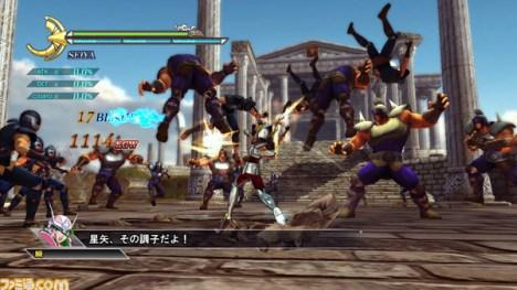 Saint Seiya Senki pegasus gameplay