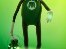 Muppets o Filme Caco Lanterna Verde