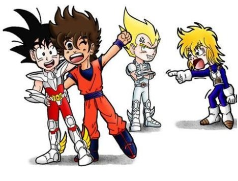 Dragon ball cavaleiros Zodiaco Z