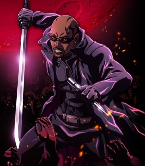 blade anime vampiros
