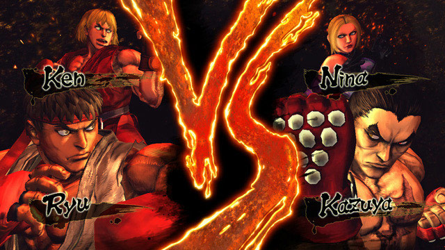 Street Fighter vs Tekken versus