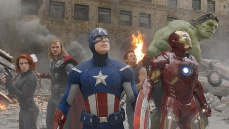 Os Vingadores reunidos The Avengers united