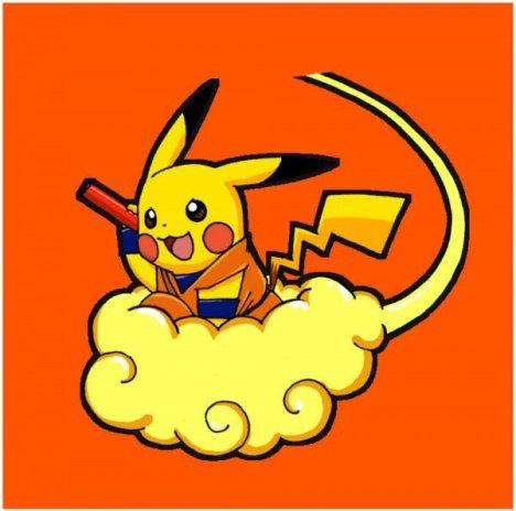 Pikachyu cosplay de Goku