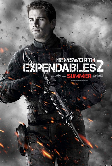 The Expendables 2 poster liam thor jr
