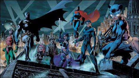 Batman amigos aliados unidos