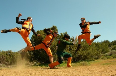 Naruto Shippuden fighting dreamers thousand pounds