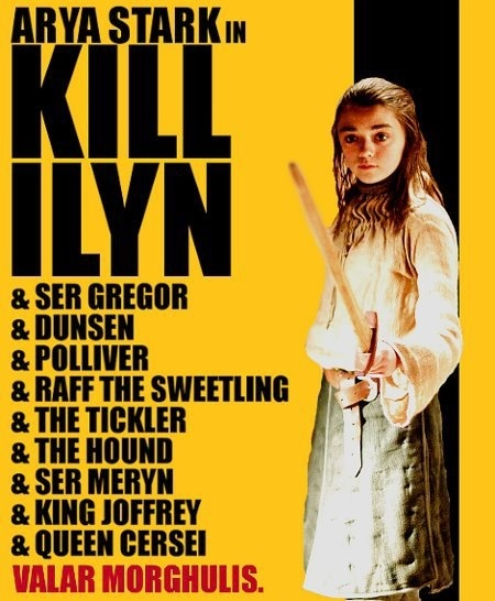 Arya Kill Ilyn