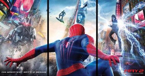O espetacular homem aranha 2