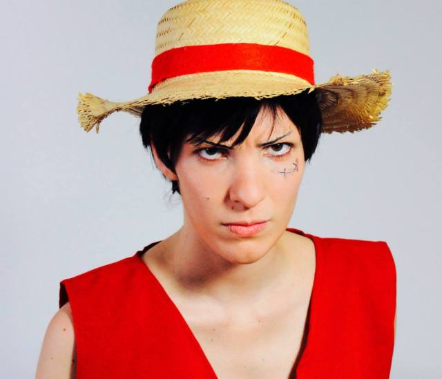 Monkey D. Luffy cosplay Patricia Fagundes One Piece A live action Musical