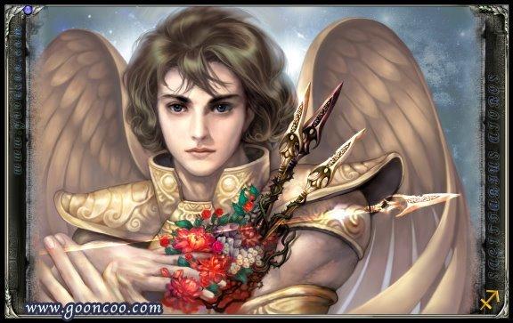 Aioros de Sagitário versão Cavaleiro de ouro Santo