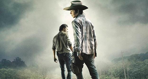 The walking Dead poster Rick e Carl