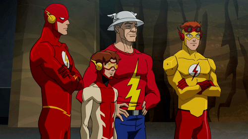 Four Flash Young Justice