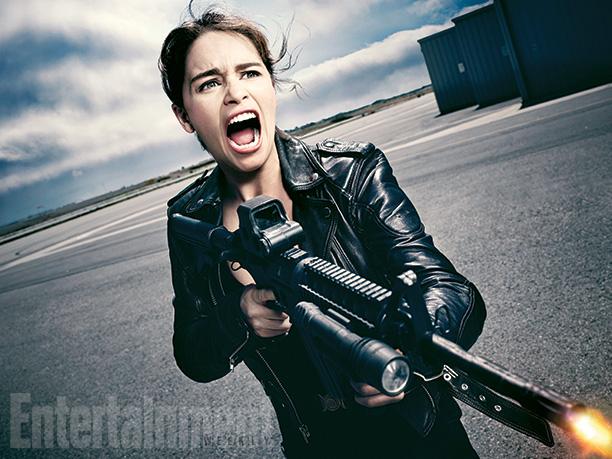 Sarah Connor Emilia Clarke Terminator Genisys
