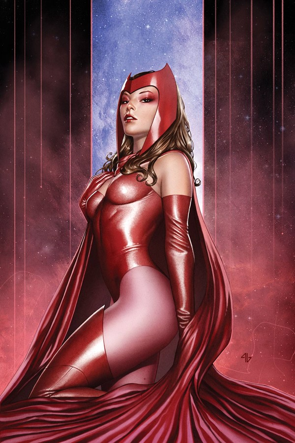 Wanda Maximoff Feiticeira escarlate sensual quadrinhos