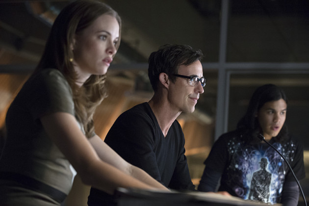 Caitlin Snow, Harrison Wells e Cisco Ramon The Flash serie