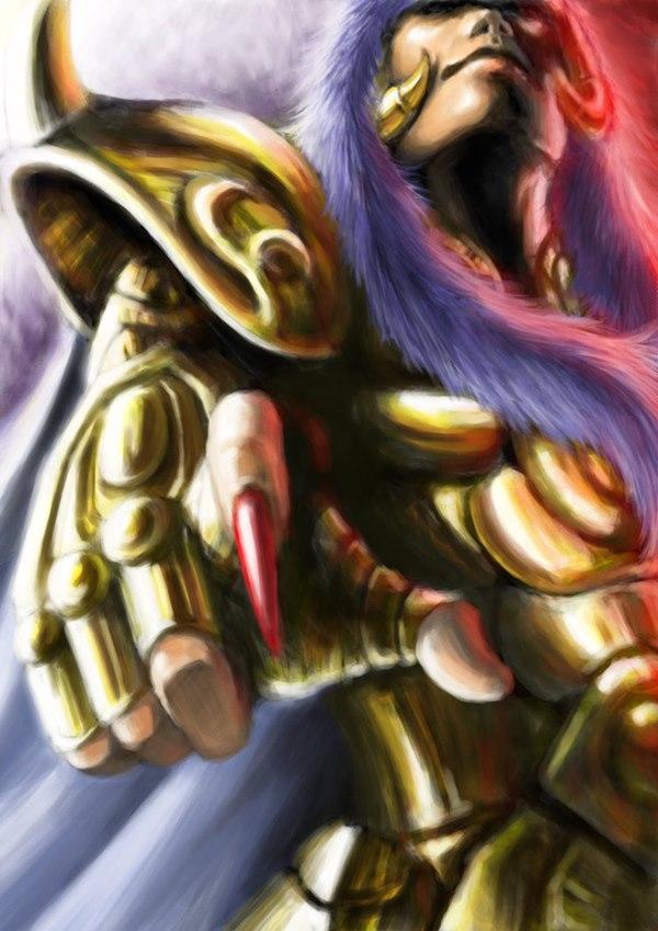 Milo de Escorpião Cavaleiros de ouro