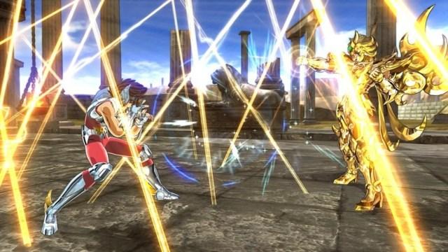 Os Cavaleiros do Zodíaco alma de ouro gameplay