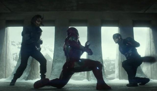 Capitão América e Soldado Invernal vs Homem de Ferro