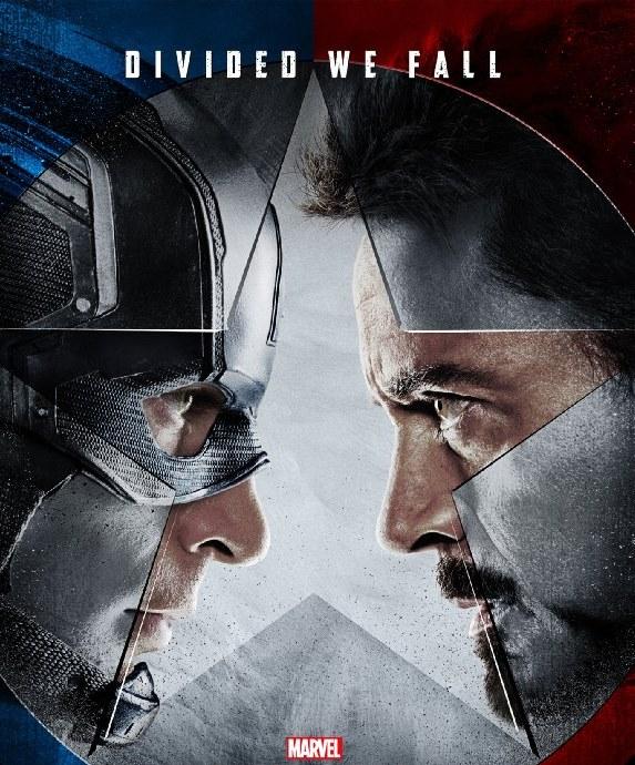 Capitão América 3 Guerra Civil poster