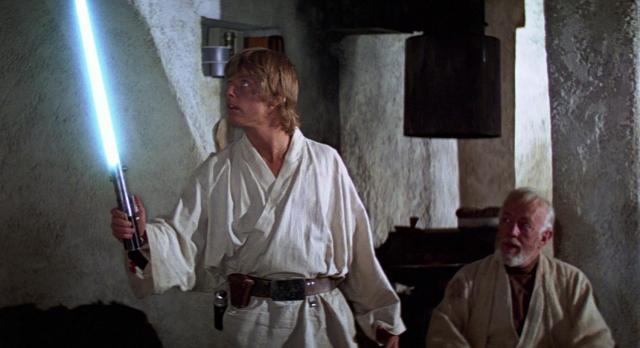 Luke e Obi Wan Star Wars