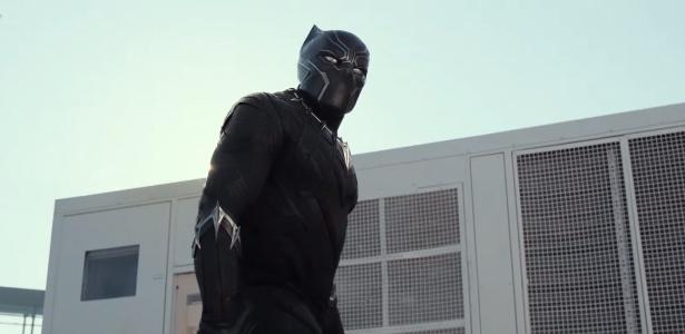 Pantera Negra trailer Capitão América 3 Guerra Civil