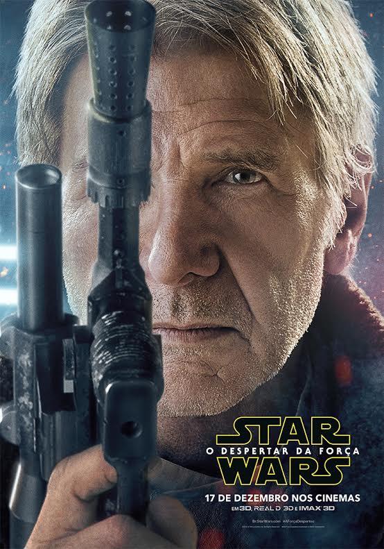 Star Wars O Despertar da Força Han Solo