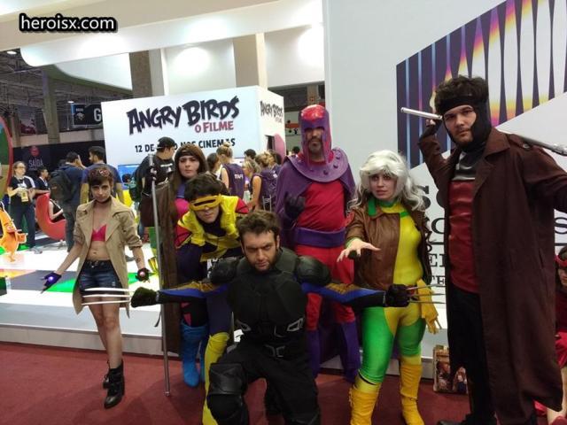 Equipe X-MEN: E como tem dois Gambits acho que um é o Morfo ou a Mística