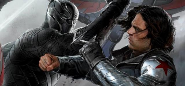 Soldado Invernal vs Pantera Negra