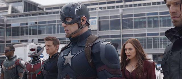 Time Capitão América Guerra Civil #teamCap