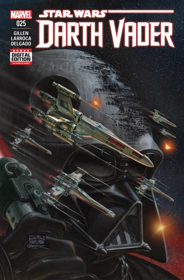 Star Wars Darth Vader 25 quadrinhos