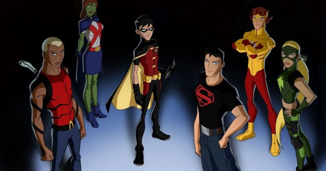 Young Justice Justiça Jovem temporada 3 equipe