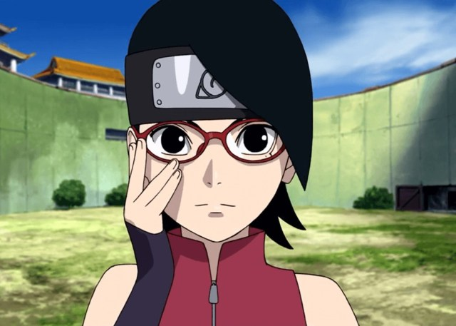 Sarada Uchiha Boruto the movie