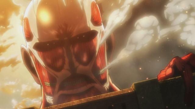 Titã Colossal Episódio 1 Shingeki no Kyojin