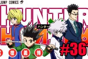 Hunter X Hunter 361 manga hiato